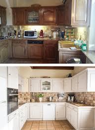 relooker cuisine bois relooking d une cuisine en bois avant après nos projets