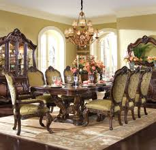 Michael Amini Dining Room Furniture | chateau beauvais rectangular table dining room set by michael