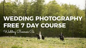wedding photography free 7 day course link in description