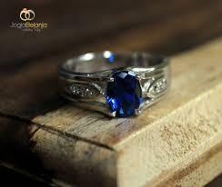model cincin blue safir cincin kawin rosemary batu safir khas kotagede kotagede shop