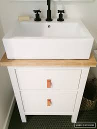 small bathroom makeover stunningly affordable sink combo solve