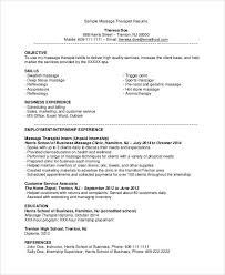 Resume Sles Therapist Resumes Sles Resume Free Resume Images