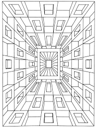 op art jean larcher 1 op art coloring pages for adults justcolor