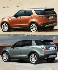 land rover discovery 5 2016 2017 land rover discovery vs discovery sport in images