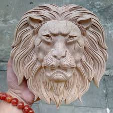 aliexpress buy woodcarving crafts king wooden carved