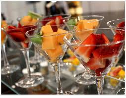 fruit treats fruit treats in martini glasses meetings imagined