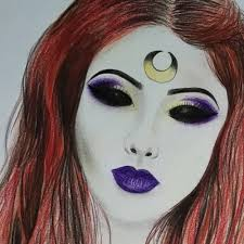 makeup artist sketchbook gregory
