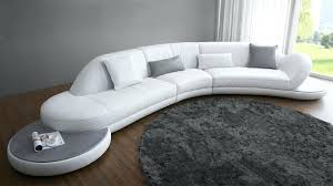 canapé demi cercle canape arrondi cuir canape design arrondi canape demi rond cuir