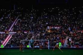 the stadium of no light sunderland s premier league clash with
