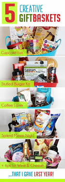 unique food gifts 5 creative diy christmas gift basket ideas for friends family