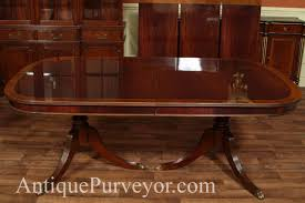 antique mahogany pedestal table antique mahogany dining room stunning mahogany dining room sets