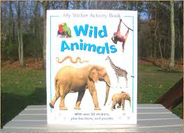 New York wild animals images The lizard guys wild animal sticker activity book magazine jpg