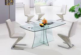 small glass kitchen table furniture blue ceramic base for round glass top dining table as