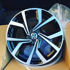 vw golf gti club sport clubsport s alloy wheels 2017 new 5112 7 5j