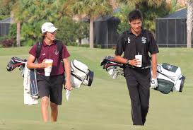 braden river upsets lakewood ranch saint stephen s ht preps andrew hammett of braden river and charlie sun of lakewood ranch chat as they walk the