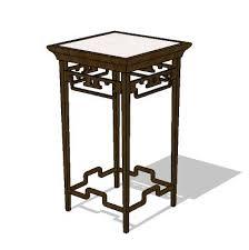 High Side Table Side Table 3d Model Formfonts 3d Models Textures