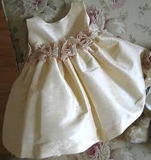 babies silk dress
