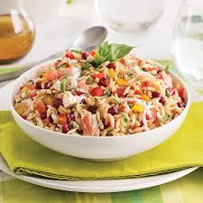 cuisiner crabe salade d orzo au crabe recettes cuisine et nutrition pratico
