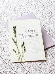 lavender wedding invitations lavender diy wedding invitations