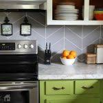painted kitchen backsplash ideas painted backsplash ideas how to paint a backsplash to look like