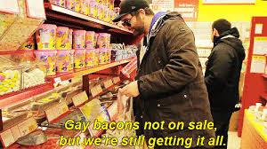 Bacon Strips And Bacon Strips Meme - gay bacon strips hashtag images on tumblr gramunion tumblr explorer
