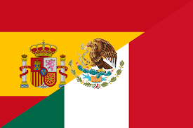 Mexicans Flags Spain Clipart Mexico Pencil And In Color Spain Clipart Mexico