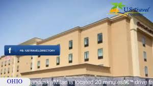 Comfort Inn And Suites Sandusky Ohio Hampton Inn And Suites Sandusky Milan Milan Hotels Ohio Youtube