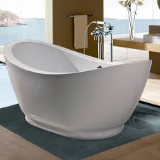 Small Bathroom Tub Ideas Soaking Tubs For Small Bathrooms 52 Wallace Cast Iron Slipper