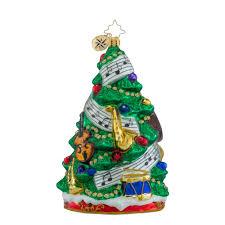 christopher radko ornaments radko sounds of joy trees music