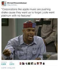 Drake New Album Meme - j cole went platinum with no features know your meme