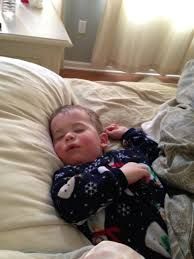 Baby Falling Off Bed February 2014
