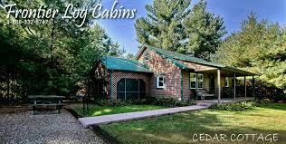 Cottages For Weekend Rental by Frontier Log Cabins Rental In Hocking Hills Ohio