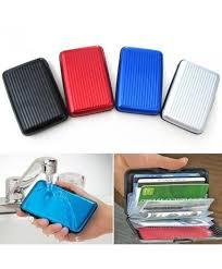 buy business card holder buy aluma wallet business cards credit cards aluminium card holder