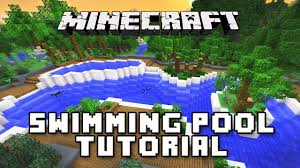 minecraft tutorial how to make a swimming pool and spa modern