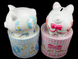 personalized baby piggy banks piggy banks make practical and adorable personalized baby gifts