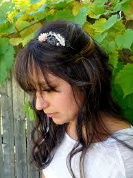 sparkly hair fancy metal headband womens band sparkly hair access