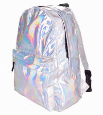 holographic bags leather backpack hotselling fashion hologram backpack for school