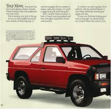 nissan pathfinder 1989 nissan pathfinder dealer brochure nicoclub