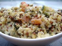 cuisiner du quinoa risotto de quinoa crémeux à la ricotta recette ricotta crémeux