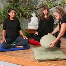 zafu meditation cushion from zen samadhi cushions