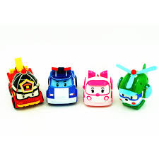 aliexpress buy 4pcs transformation robocar poli robot