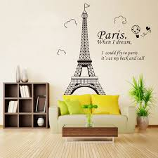 compare prices on wall sticker paris online shopping buy low wall stickers paris eiffel tower beautiful wallpaper art decor mural room decal removable health material d8