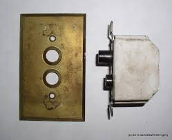 old push button light switches vintage arrow push button light switch brass plate cover gmm home
