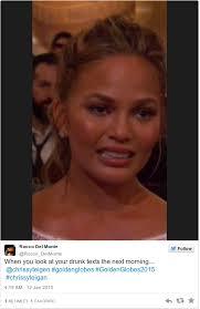 Drunk Face Meme - chrissy teigen s cryface is the internet s greatest meme from the