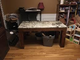 granite top parsons desk build n u0027 cook with tom