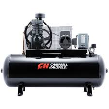 cbell hausfeld 80 gal 1 phase electric air compressor ce7005