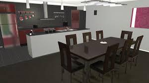 dessiner une cuisine en 3d gratuit plan amenagement cuisine gratuit vr45 jornalagora visite déco