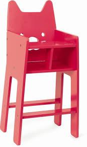 chaise haute poup e janod chaise haute pour poupée babycat