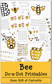 free bee do a dot printables gift of curiosity