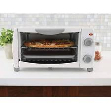 Toaster Oven Pizza Mainstays 4 Slice Toaster Oven White Kitchen Cooking 1000w Baker